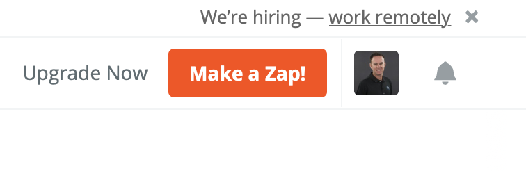 Make a new Zap in Zapier for Facebook lead ads